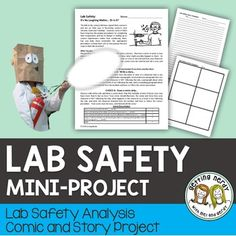 This Lab Safety Comic or Story Activity can be used as supplement to your Scientific Method Unit and encourages students to be mindful of their actions in the laboratory setting. WHAT'S INCLUDED IN THIS DAY LESSON: Biology Lessons, Science Biology, Science Lessons, Teaching Science, Life Science, Ap Biology, Physical Science, Earth Science, Science Experiments