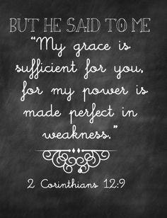#2Corinthians12:9