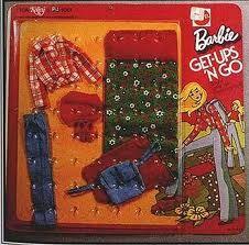Vintage Barbie Get-Ups 'N Go Camping 1973. I had this set!