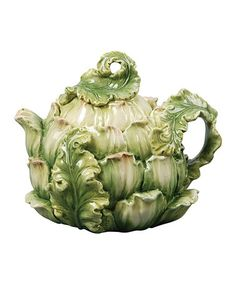 This Artichoke Teapot is perfect! #zulilyfinds