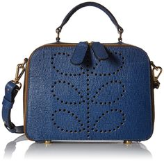 Orla KielyTextured Leather Mini Bay Convertible Shoulder Bag