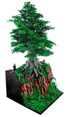 LEGO - The Ringwraiths' hunt for Hobbits, by Xenomurphy
