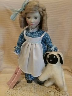 Hey, I found this really awesome Etsy listing at https://www.etsy.com/listing/240353962/mary-had-a-little-lamb-doll-by-suzanne