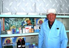 [In Kyrgyzstan, farmers organize to overcome poverty]  Photo: The head of the veterinary service provides a range of the most needed medicines for livestock farming.