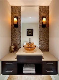 Contemporary Powder Room Design, Pictures, Remodel, Decor and Ideas - page 10 Contemporary Toilets, Contemporary Bathrooms, Modern Bathroom, Small Bathroom, Küchen Design, House Design, Design Ideas, Bath Design, Interior Design