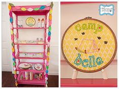 Girly Camping Themed Party - Kara's Party Ideas - The Place for All Things Party