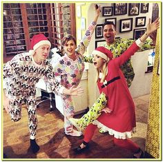 jessica alba with family in christmas day
