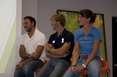 06/09/2012 - Serata in Elmec con i nostri amici Pierpaolo Frattini, Elia Luini e Sara Bertolasi, campioni del canottaggio italiano.