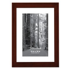 The Steinbeck collection features a ridge on the outer corner and is featured in several different colors and sizes. Each frame is crafted from hard woods and finished with high quality stains. Aaron Brothers, Coffee Colour, Michael Store, Buy Fabric, Going Home, Custom Framing, Different Colors, Tapestry, Frame