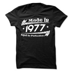 MADE IN 1977 AGED TO PERFECTION 3 T Shirt, Hoodie, Sweatshirt