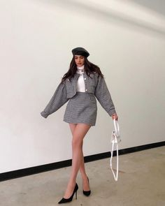 Preppy Outfits, Casual Winter Outfits, Winter Fashion Outfits, Classy Outfits, New Outfits, Stylish Outfits, Elegantes Outfit, Mode Hijab, Aesthetic Clothes