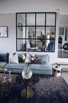 48 Inspiring Modern Living Room Decorations Ideas To Manage Your Home My Living Room, Small Living, Living Room Decor, Modern Living, Bedroom Decor, Decor Interior Design, Modern Interior, Living Room Designs, Home Furnishings