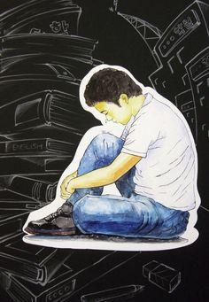 학생의 슬픔....