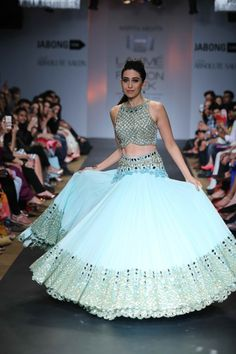 Lakme fashion week summer 2014: aprita mehta. Lovee the color!