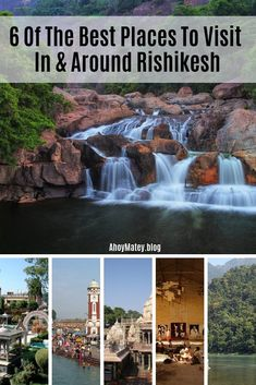 6 Of The Best Places To Visit In And Around Rishikesh Want to see the Beatles Ashram in India? Here's a list of 6 places to visit in Uttarakhand near Rishikesh, where you can explore the best parts of this spiritual travel destination. Travel Destinations In India, India Travel Guide, Asia Travel, Places To Travel, Rishikesh Yoga, Rishikesh India, Tahiti, Cool Places To Visit, India