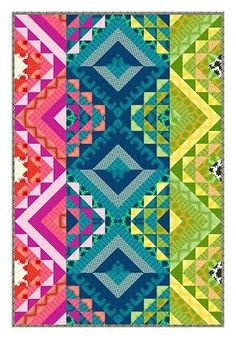 Mosaic Stripe Quilt Kit