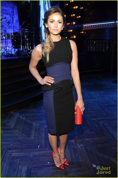 Nina Dobrev at the CW Upfront After Party!