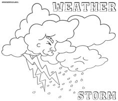 Rachel Maybeth : Free Weather Clipart /Coloring pages