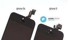 iPhone 5S vs iPhone 5 – comparatia panourilor frontale