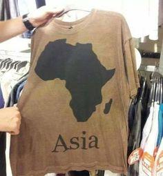 ...at least get the names of the continents right.  vença a sua tristeza shurato