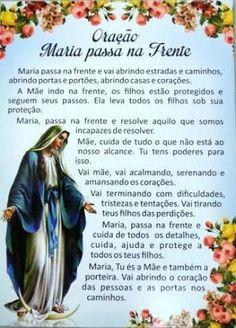 Resultado de imagem para como rezar o terço maria passa na frente