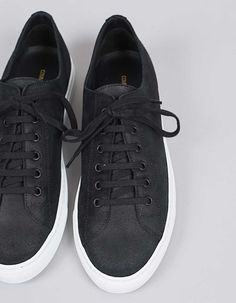 9e26b0fa185bbf Common Projects Tournament Low Waxed Suede Black - Nitty Gritty Store  Gemeinsame Projekte