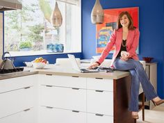 Color everywhere! Peek inside Sarah Richardson's home featured in #hgtvmagazine http://www.hgtv.com/color/inside-sarah-richardsonrsquos-colorful-home/pictures/index.html?soc=pinterest