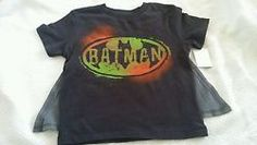 Batman graffiti detachable cape tshirt toddler boys size 3t bnwt