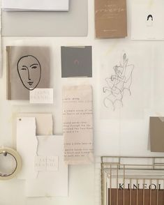 Airy moodboard with a hint of femininity and humanity. Inspiration Wand, Inspiration Boards, Design Inspiration, Fashion Inspiration, Board Ideas, My New Room, My Room, Beige Aesthetic, Aesthetic Bedroom