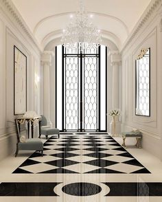 Luxury interior Design Company in Dubai UAE .IONS DESIGN one of the leading interior design Firms with world class designers.provides home designs , commercial retail and office designs Lobby Design, Design Entrée, Foyer Design, Deco Design, House Design, Design Trends, Design Ideas, Design Projects, Entrance Design