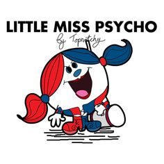 A mash up of the Little Miss books and Harley Quinn. Little Miss Characters, Little Miss Books, Mr Men Little Miss, Mr Men Books, My Books, Funny Iphone Wallpaper, Funny Wallpapers, Fake Friend Quotes, Childhood Ruined