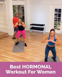 Take our quiz and find out the best hormonal workout for your body! Most women are told to exercise to get rid of weight This is often bad advice Exercise plays only a tiny percentage of our… Fitness Herausforderungen, Fitness Workout For Women, Fitness Workouts, Butt Workout, Easy Workouts, Physical Fitness, Workout Exercises, Health Fitness, At Home Workout Plan