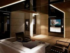 Luxurious interior on board 190´ super yacht Egeria