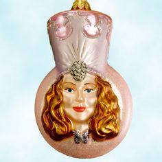 Polonaise Billie Burke representation Glinda the Good With Christmas Ornaments, 1990s