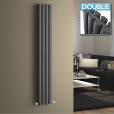 Vertical radiators come in all styles & sizes! Choose from small or tall radiators, flat panel, tube or vertical column radiators. Flat Panel Radiators, Vertical Radiators, Electric Radiators, Column Radiators, Kitchen Radiators, Living Room Grey, Living Room Modern, Wall Heater Cover, Houses