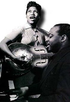 sister Rosetta Tharpe and Count Basie