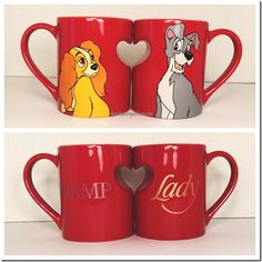 Disney Discovery- Disney Couples Mugs