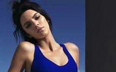 Download wallpapers Kendall Jenner, portrait, american model, brunette, fashion model