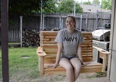 It's funny because over the past two years I have made 7 porch swings for either friends or family but I've never made one for myself. My husband has been bugging me to get around to making one so ...