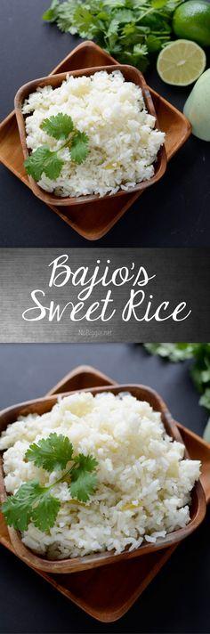 Bajios sweet rice -