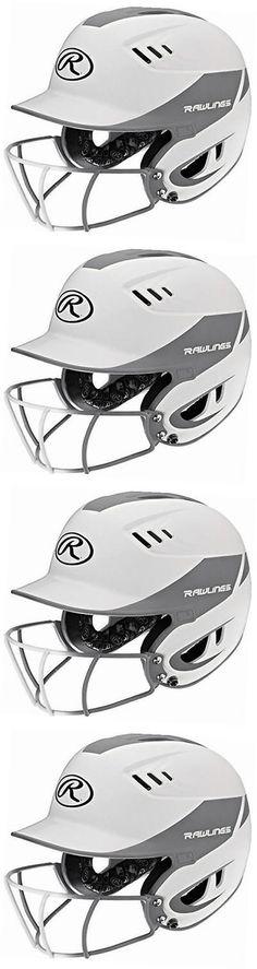 Batting Helmets and Face Guards 36270: Sporting Goods Senior Velo Sized Softball Helmet, White Silver -> BUY IT NOW ONLY: $37.18 on eBay!