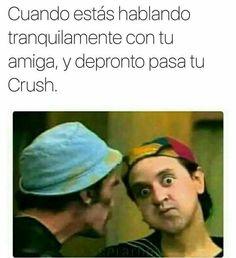 Funny Spanish Memes, Funny Relatable Memes, Funny Football Memes, Funny Teen Posts, Mexican Memes, Crush Memes, Internet Memes, Lol, New Memes