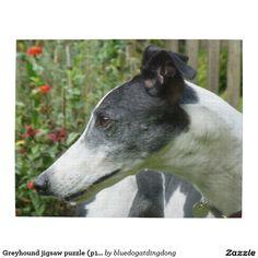 Greyhound jigsaw puzzle (p101)