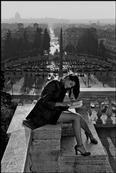 ITALY, Rome:fashion on reading. from Pincio toward Piazza del Popolo.  (c) Ferdinando Scianna/Magnum Photos