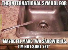 The international symbol