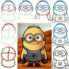 Minions-I just love the looks of these guys.  I've never seen the movie but like the characters.