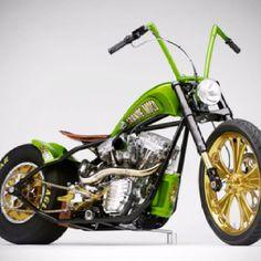 Sick green #chopper