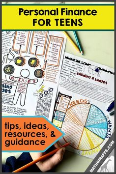 How to Teach Teenagers Money Management in a Way that is Relevant, Engaging, and Creative! (Budgeting, Taxes, Investing, Insurance, and more!)