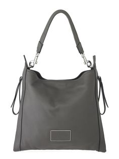 Marc by Marc Jacobs Zip That Hobo in Faded Aluminum