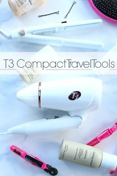 T3 Compact Hair Styling tools for the gal on the go